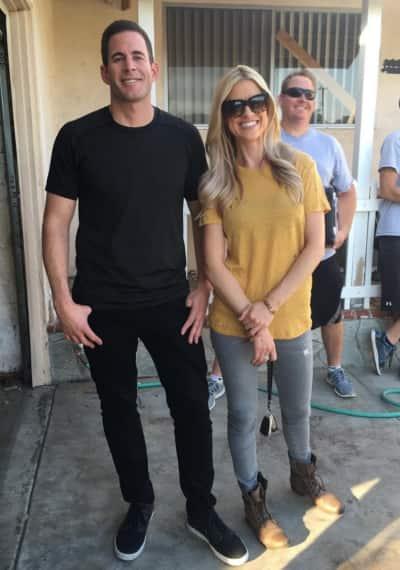 Christina dating contractor tarek