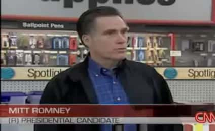Mitt Romney Spars With Reporter After Being Called a Liar