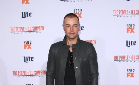Joey Lawrence: 'American Crime Story - The People V. O.J. Simpson' Premiere
