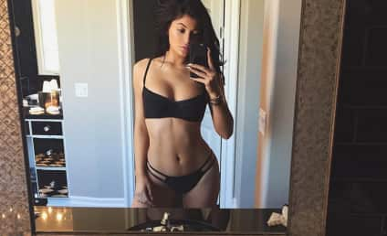 Kylie Jenner Snaps Sexy Bikini Selfie: Is She 18 Yet?!?