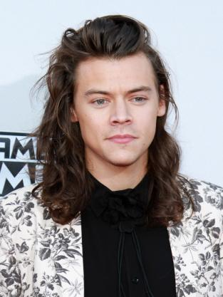 Harry Styles at the American Music Awards 2015