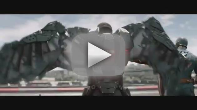 Captain America: The Winter Soldier Super Bowl Trailer