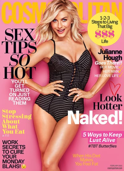 Julianne Hough Cosmopolitan Cover