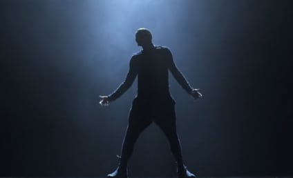Chris Brown Dances Alone, Teases Duet with Ariana Grande