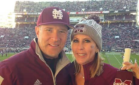Vicki Gunvalson and Brooks Ayers Photo