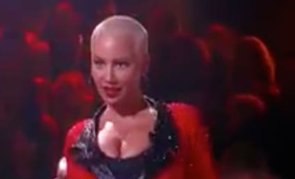 Amber Rose Bids Farewell to Dancing with the Stars, Maksim Chmerkovskiy