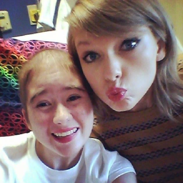 Taylor Swift Hospital Selfie