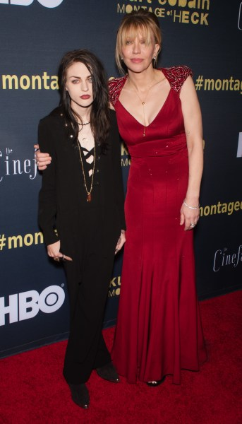 Frances Bean Cobain and Courtney Love Photo
