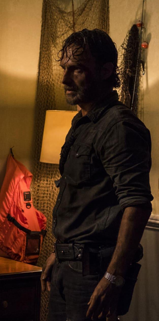 Rick in Trouble on The Walking Dead Season 8