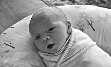 Kris Allen Baby Photo: Released! Adorable!