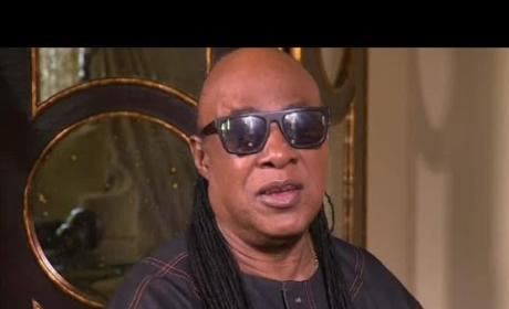 Stevie Wonder Breaks Down Over Prince