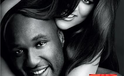 Khloe Kardashian and Lamar Odom Unveil New Fragrance Ad