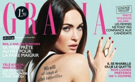 Megan Fox Magazine Cover