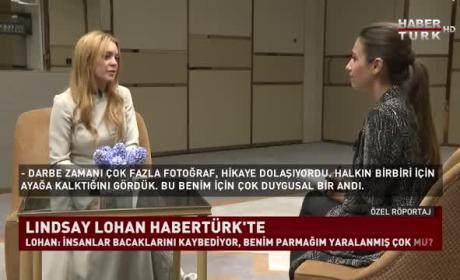 Lindsay Lohan: Turkish Television Interview