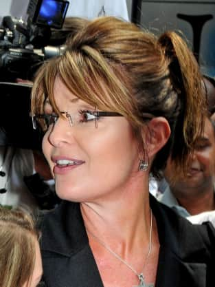 Sarah Palin in NYC