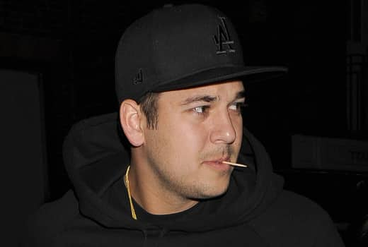Pic of Rob Kardashian