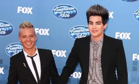 Adam Lambert and Sauli Koskinen
