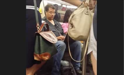 "@dogboner Labels Neil deGrasse Tyson  a ""Dumbass Nerd"" for Using Laptop on Subway"