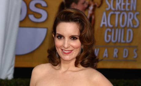 Tina Fey SAG Award Fashion