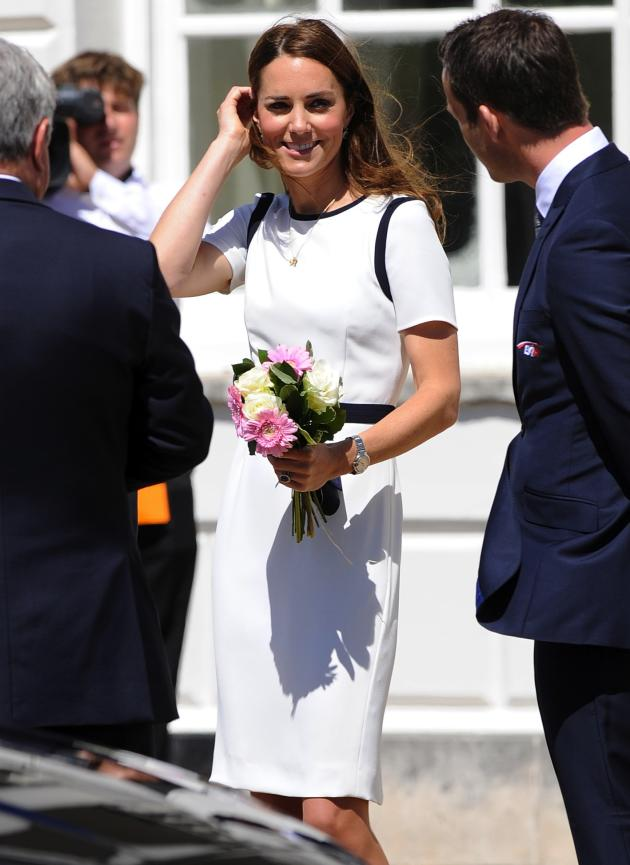 Kate in White and Black
