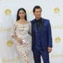 Matthew McConaughey and Camila Alves at the Emmys