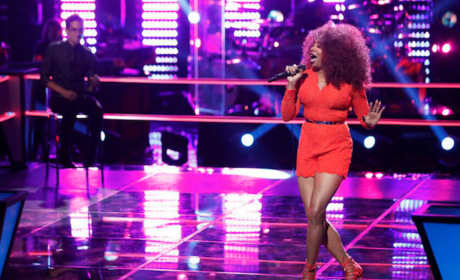 Sa'Rayah Sings on The Voice