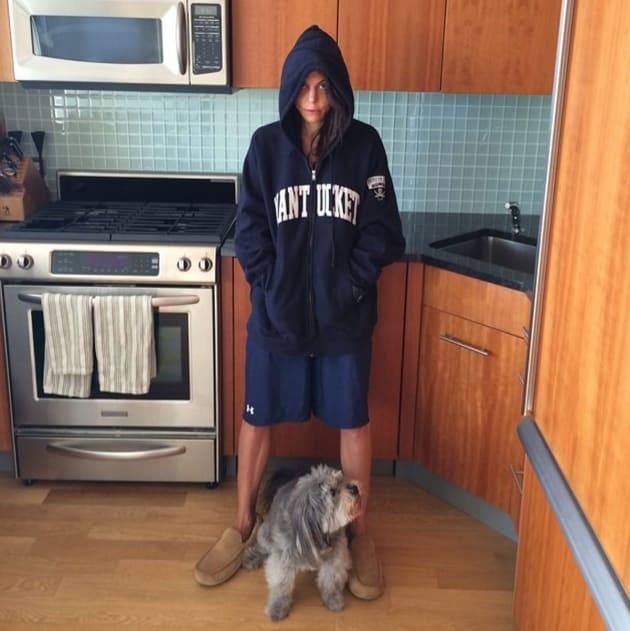 Bethenny Frankel in Baggy Clothes