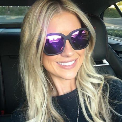 Christina El Moussa Selfie