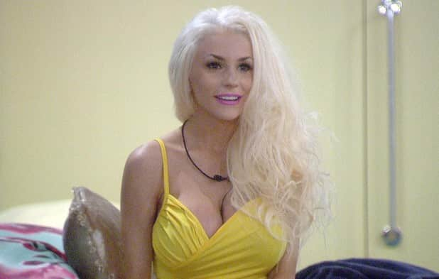 Courtney Stodden on Big Brother UK