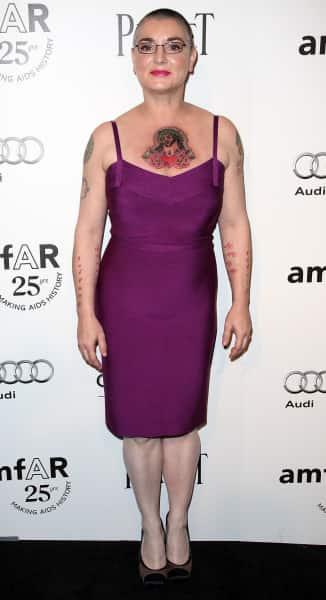 Sinead O'Connor Tattoo