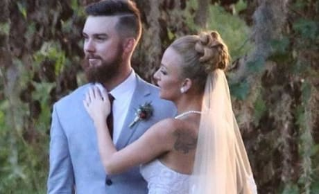 Maci Bookout, Taylor McKinney Wedding Pic