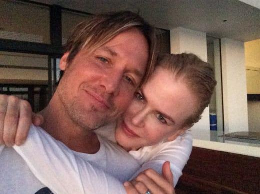 Keith Urban and Nicole Kidman, Cheek to Cheek