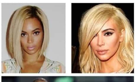 Kim Kardashian: Wannabe Beyonce?