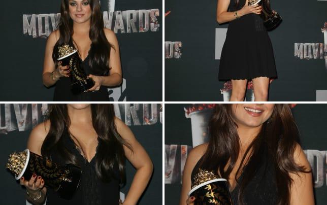Mila kunis mtv movie awards