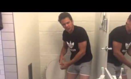 James Franco Screams About Poop