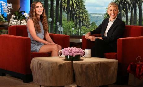 Megan Fox on Ellen