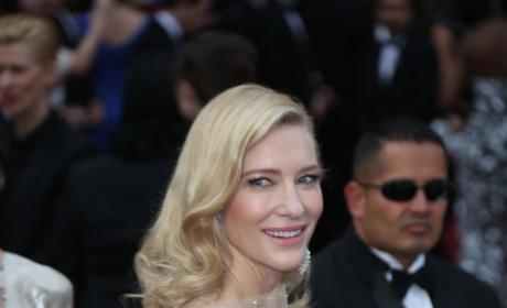 Cate Blanchett at the Oscars