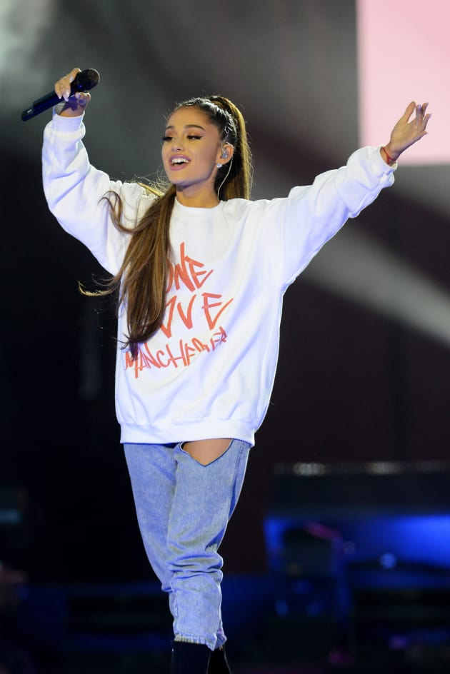 Ariana Grande at One Love Manchester The Hollywood Gossip