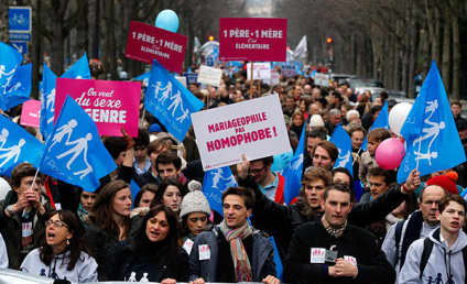 France Legalizes Gay Marriage Despite Controversy, Protests