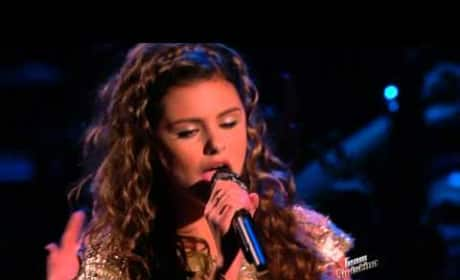 """Jacquie Lee: """"Who's Lovin' You"""" - The Voice"""
