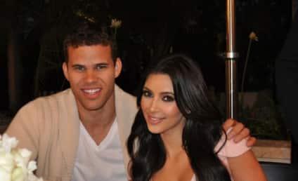 Kim Kardashian and Kris Humphries: The Engagement Night Photo!