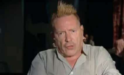 Johnny Rotten to Female Reporter: Shut Up and Listen When a Man is Talking