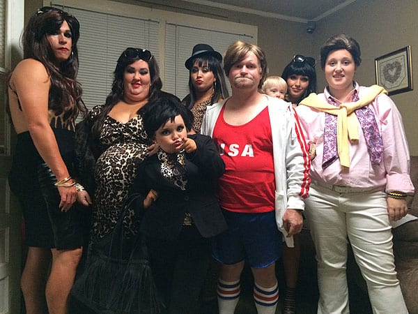 The Thompsons as the Kardashians