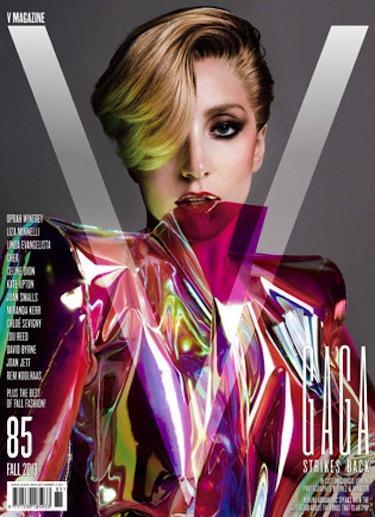 Lady Gaga V Mag Cover