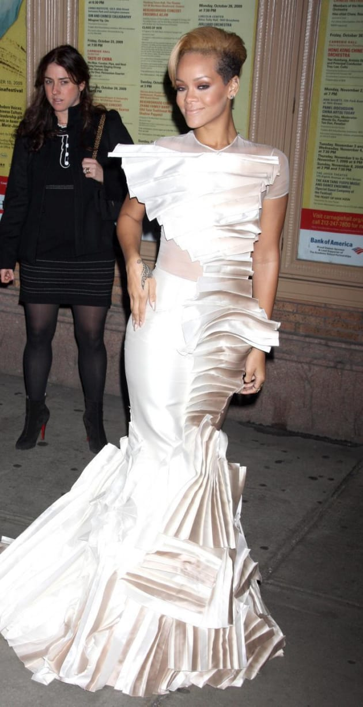 Rihanna's Wedding Dress