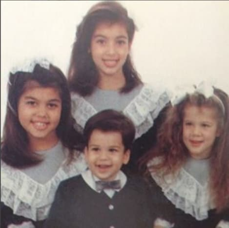 Kardashians as kids