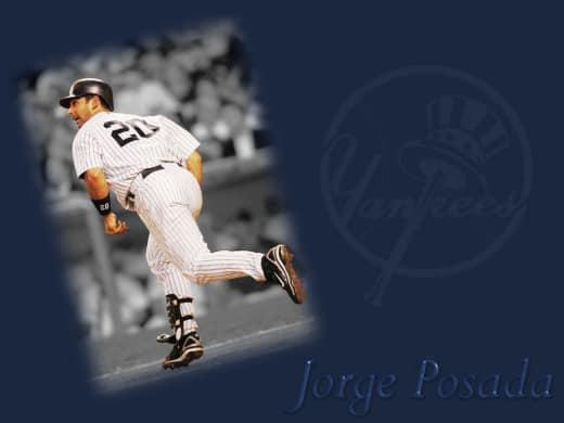 Jorge Posada Wallpaper