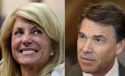 "Wendy Davis Ripped By Rick Perry For ""Not Following Her Own Example"""