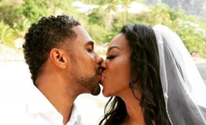 Kenya Moore Sparks Divorce Rumors, Then SLAMS Split Speculaton