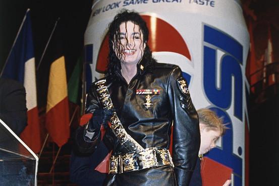 Michael Jackson, Pepsi